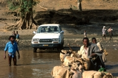 Crossing Tekezé River