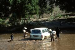 Fording Tekezé River