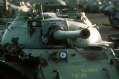 Kagnew Station T-62 tank