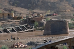 Broken Bridge across Tekezé River