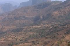Volcanic Plug Simien Mountains