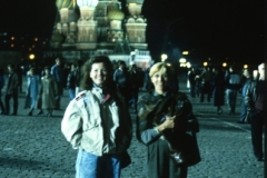 Lucia and Lena in Red Square