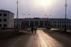 Yakutsk Road into Town