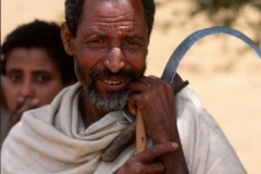Farmer with Sickle