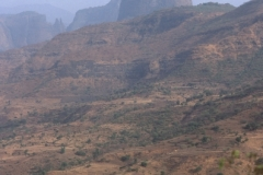 Volcanic Plug Simien Mountains