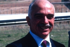 King Hussein Portrait