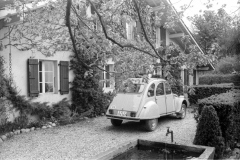 Saugeons with 2CV