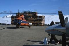 LLK and a Mi-8T
