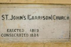 St John's Church Nameplate