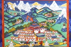 Tengpoche Painting